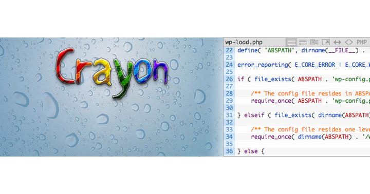 WordPress投稿にソースを表示するプラグイン、Crayon Syntax Highlighter